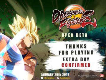 Beta de Dragon Ball FighterZ é prolongada
