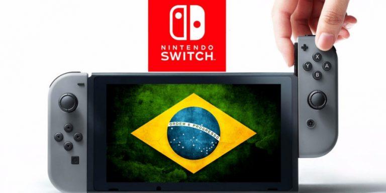 Switch chegará ao Brasil oficialmente dia 18 de setembro 1