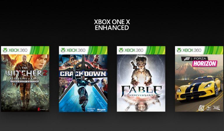 Microsoft anuncia 4 novos jogos de Xbox 360 que recebem melhorias no Xbox One X