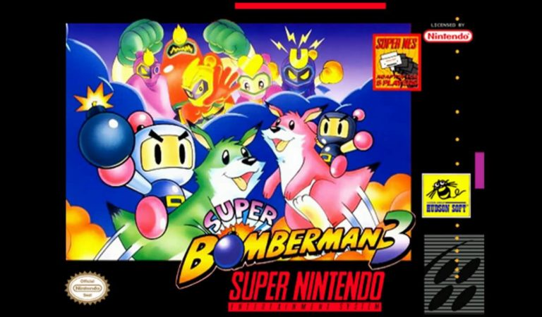 Retrô Game – Super Bomberman 3