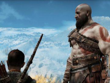 God of War em 60fps no PS5 5