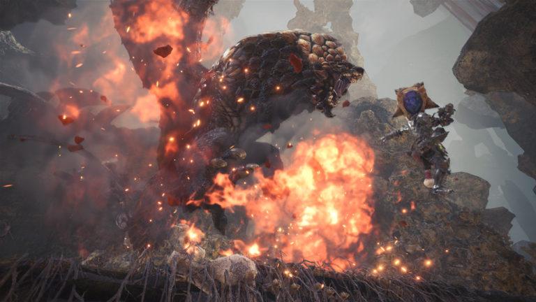 Capcom descarta Monster Hunter World no Switch 1