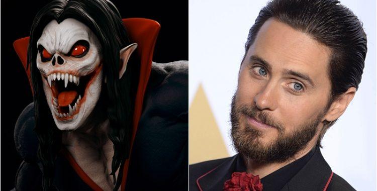 MORBIUS! Jared Leto estrelará em filme derivado sobre o vilão de Homem-Aranha. 1