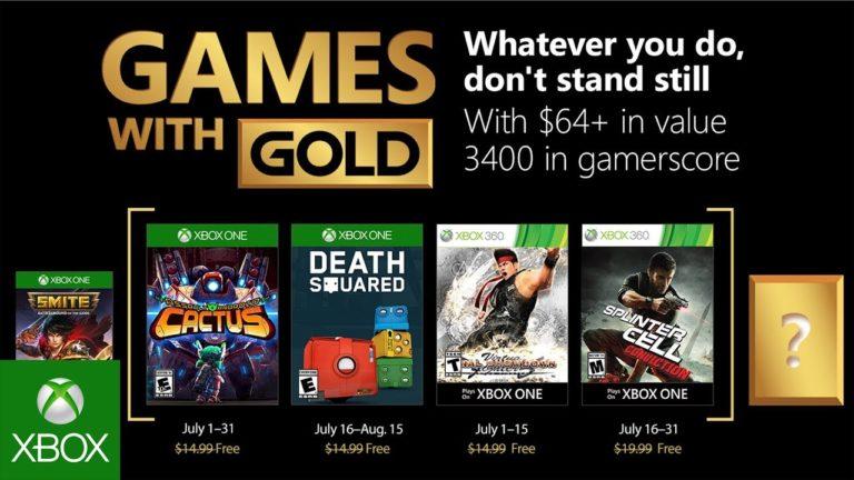 [OFICIAL] Games With Gold –  jogos gratuitos para o mês de Julho de 2018 1