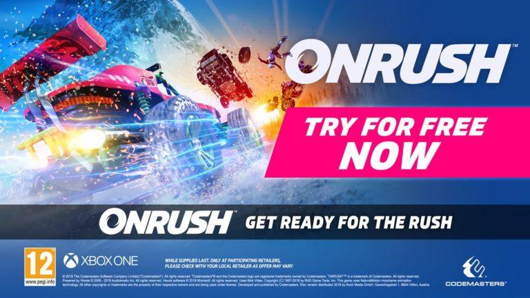 Versão teste de OnRush já está disponível para Xbox One 1