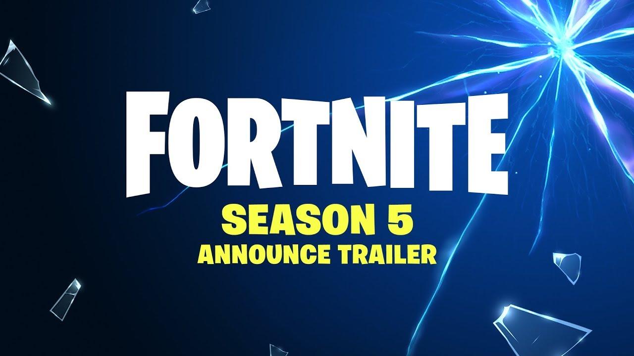 Fortnite Season 5 Announce Trailer Youtube