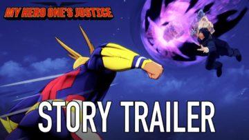 Bandai Namco divulga dois novos trailers de My Hero One's Justice 2