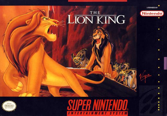 Retrô Game - The Lion King 1