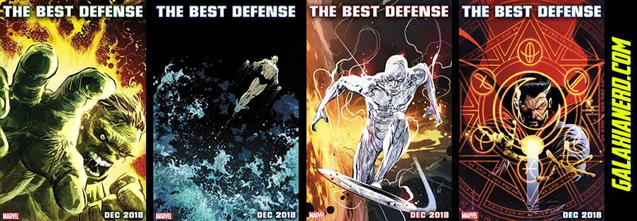 Marvel | Editora anuncia volta da formação clássica de Os defensores 5