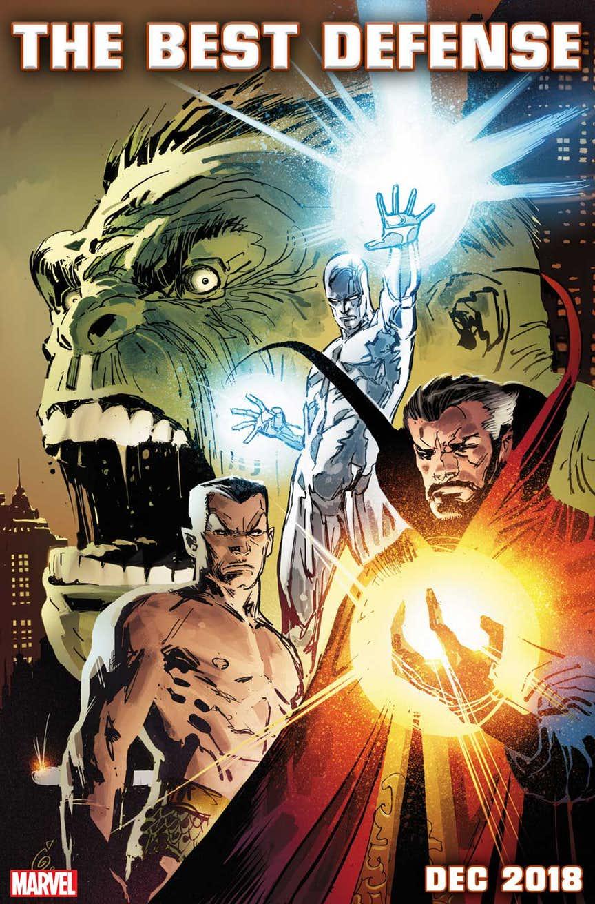 Marvel | Editora anuncia volta da formação clássica de Os defensores 4