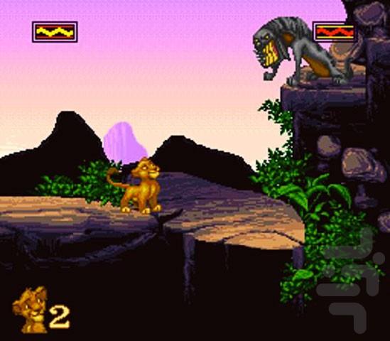 Retrô Game - The Lion King 4