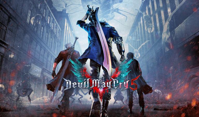 Devil May Cry 5 o melhor jogo da BGS 2018