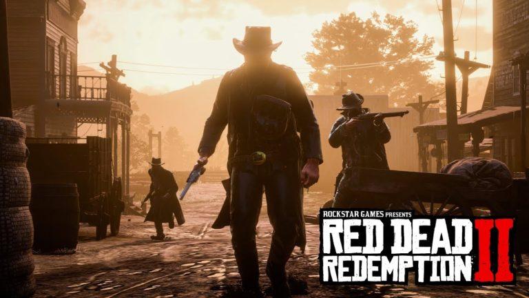Sony confirma de forma oficial que trailer de Red Dead Redemption 2 estava rodando no PS4 Pro 1