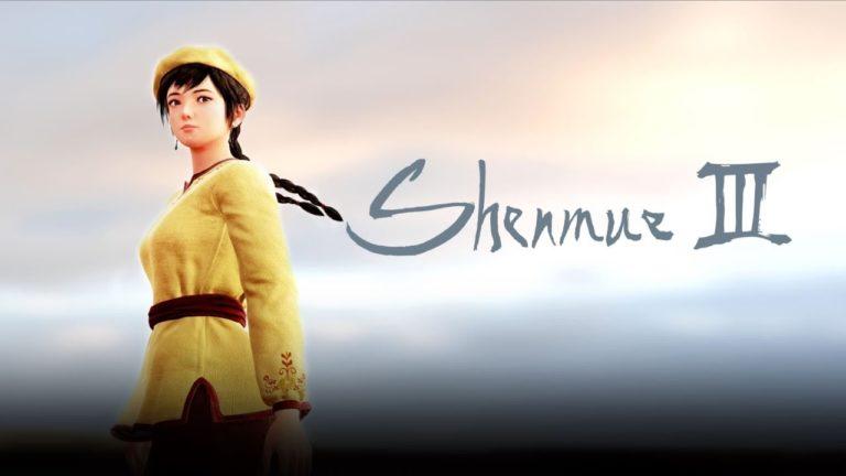 Shenmue III finalmente recebe data de lançamento 1