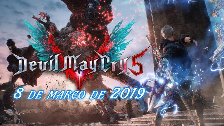 Devil May Cry 5 chega dia 8 de Março de 2019 com legendas em PT-BR 1