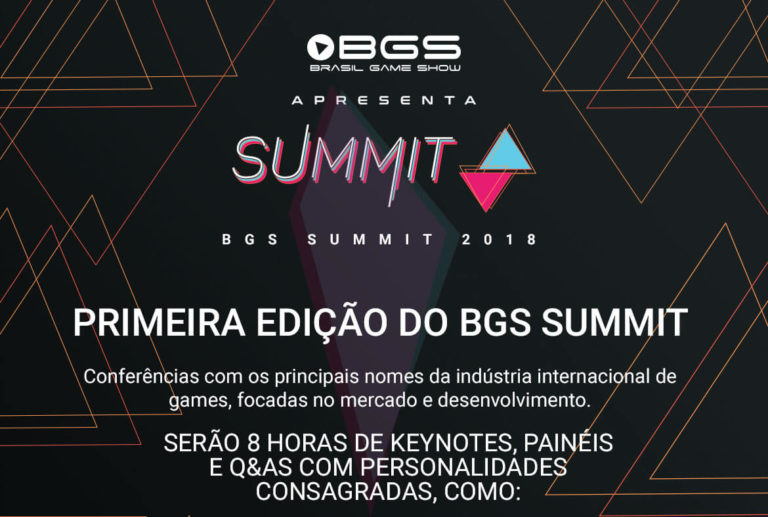 Brasil Game Show realiza pela primeira vez o BGS Summit 1