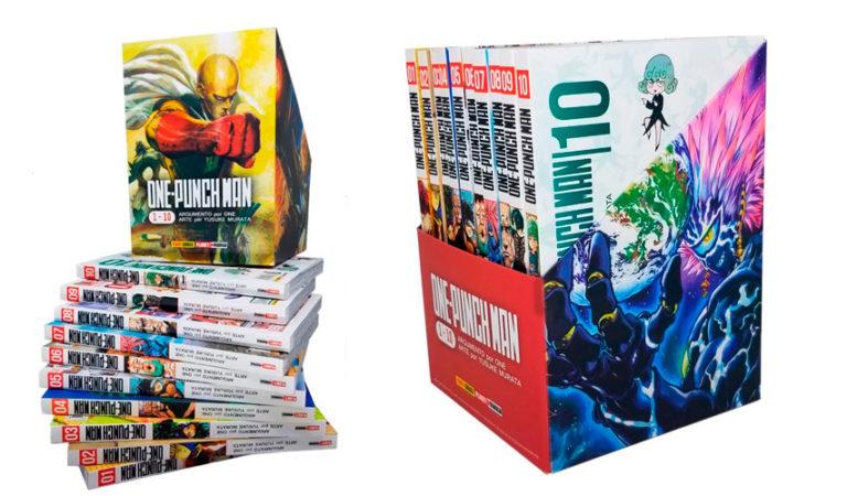 Panini lança box de One-Punch Man com as dez primeiras edições