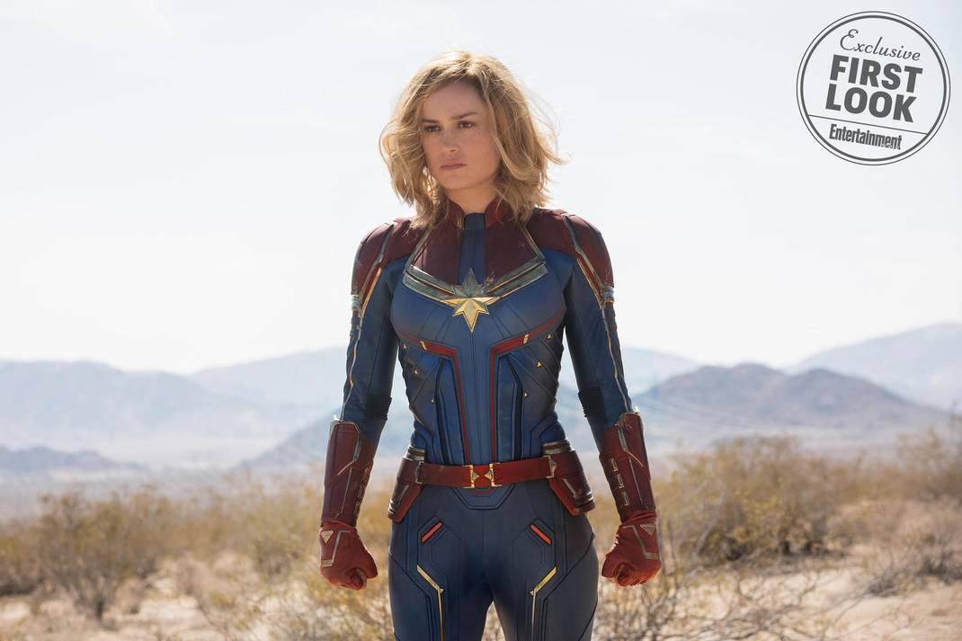 Capitã Marvel | Confira as primeiras fotos do filme 5