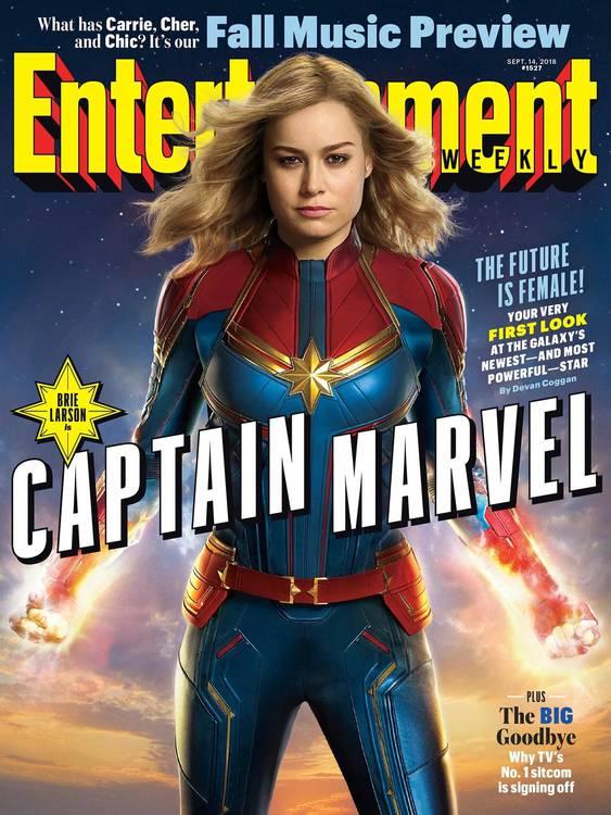 Capitã Marvel | Confira as primeiras fotos do filme 4