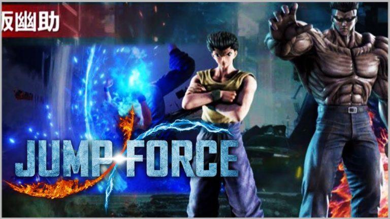 Yusuke Urameshi e Toguro são confirmados para Jump Force | Revelada data de lançamento 1