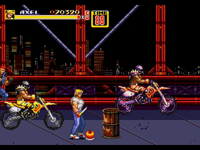 Retrô Game - Street of Rage 2 8