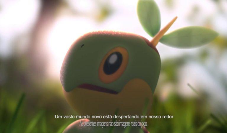 Encontre Pokémon Originários da Região de Sinnoh!