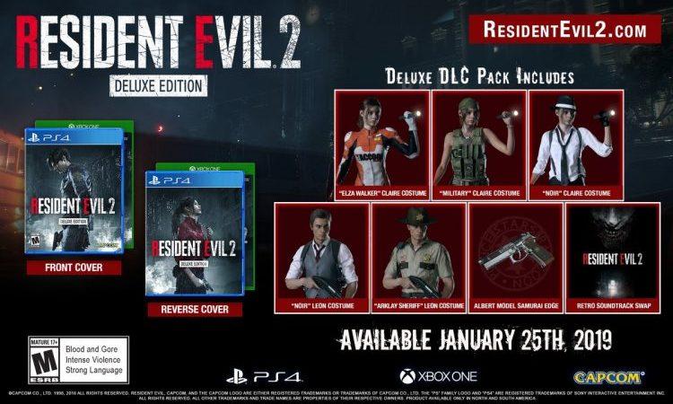 Capcom revela a Deluxe Edition de Resident Evil 2 | Veja novas imagens e gameplay