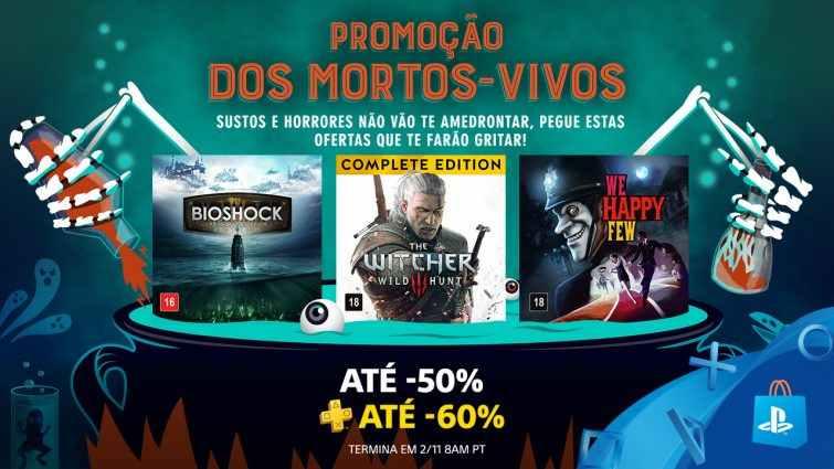 """""""Promoção dos Mortos Vivos """" da Psn traz descontos de até 60%"""