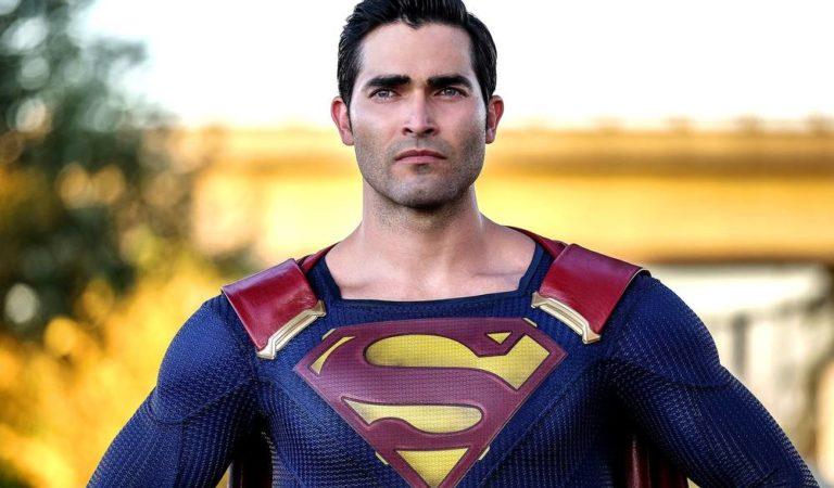 Superman aparece de uniforme preto nas filmagens de crossover das séries da DC