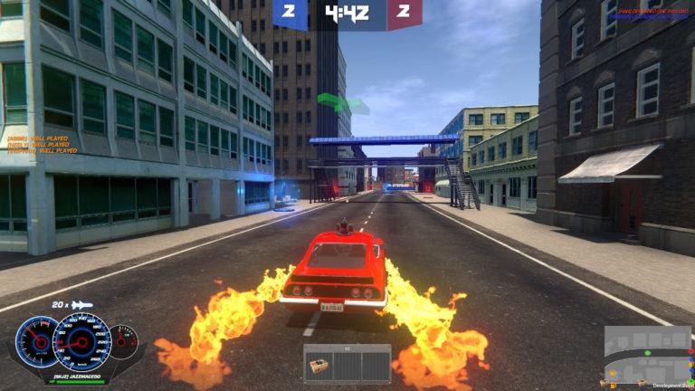 Jogo brasileiro Deliverace, game de batalha de carros, estará na Brasil Game Show 1