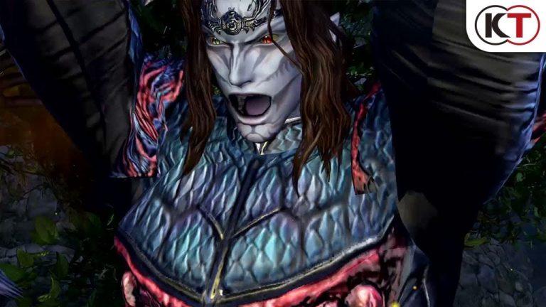Novo trailer deWarriors Orochi 4 focado nos personagensOrochi e Nu Wa 1