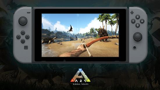 ARK: Survival Evolved já está disponível no Nintendo Switch