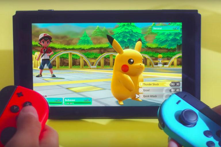 """Pokemon Let's Go se torna o """"Lançamento Mais Importante de 2018"""" 1"""