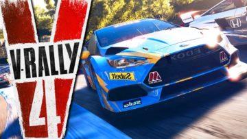 V-Rally 4 ganha data de lançamento no Nintendo Switch 2