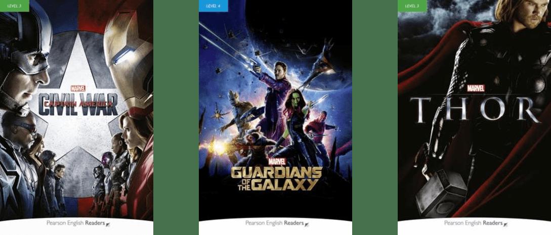 Livros dos Vingadores, Capitão América – Guerra Civil e Thor ensinam inglês em diferentes níveis 6