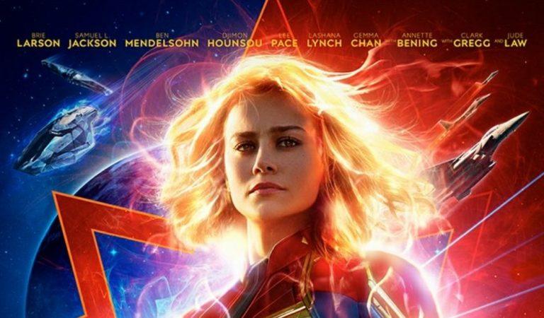 Saiu novo trailer de Capitã Marvel