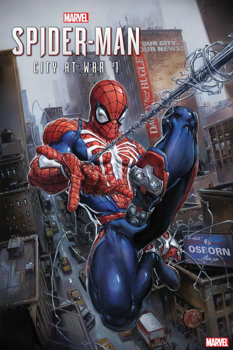 Anunciada série de HQs baseadas no jogo Spider-Man de PS4 1