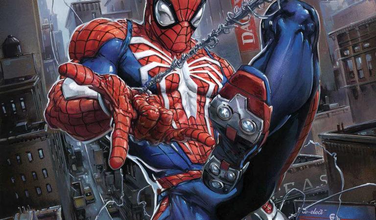 Anunciada série de HQs baseadas no jogo Spider-Man de PS4