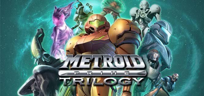 Loja sueca lista Metroid Prime Trilogy para Switch