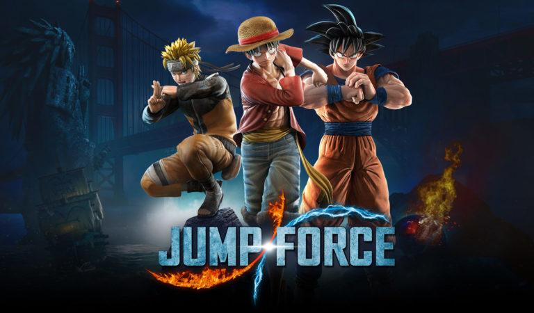 Jump Force ganha trailer de criação de personagens em português