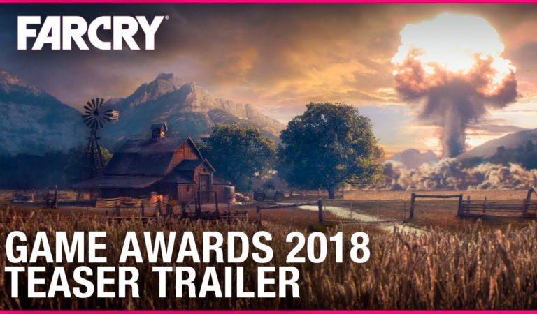 Novo Far Cry será anunciado na TGA 2018| Veja o teaser trailer