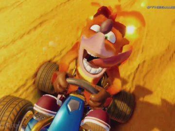 Anunciado no Video Game Awards Crash team Racing Nitro 5