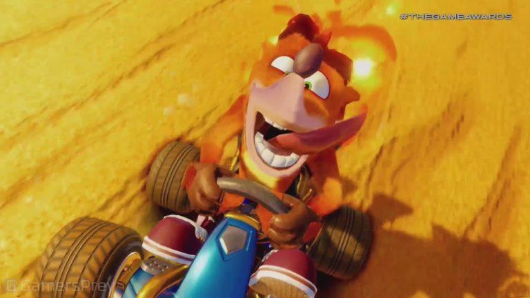 Anunciado no Video Game Awards Crash team Racing Nitro 1