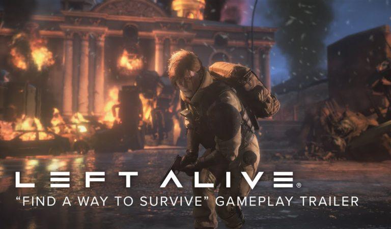 Square Enix divulga nova arte e gameplay de Left Alive