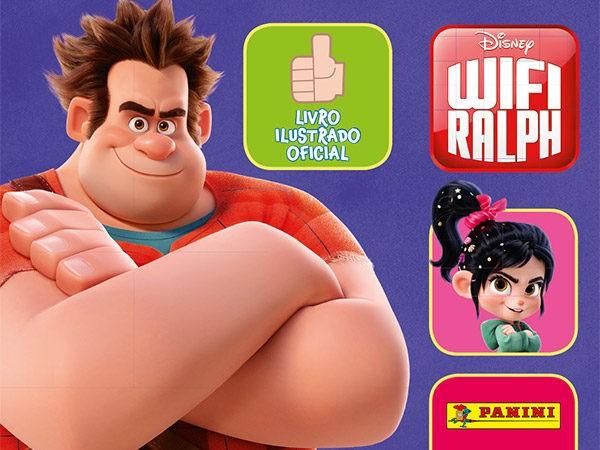 Sucesso da Disney, Panini lança álbum de figurinhas do WiFi Ralph.