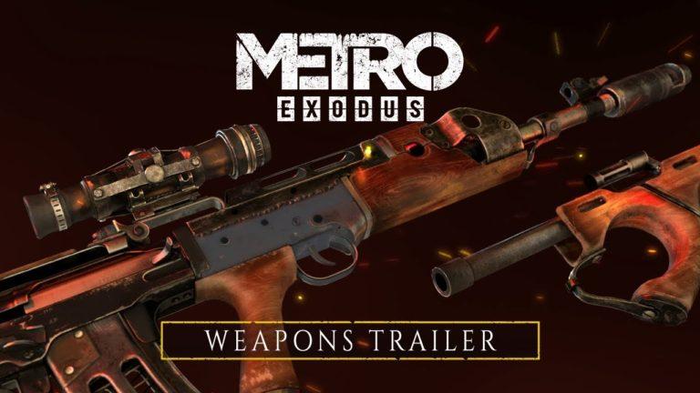 Novo trailer de Metro Exodus focado na personalização das armas 1