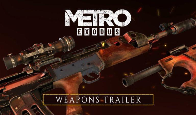 Novo trailer de Metro Exodus focado na personalização das armas