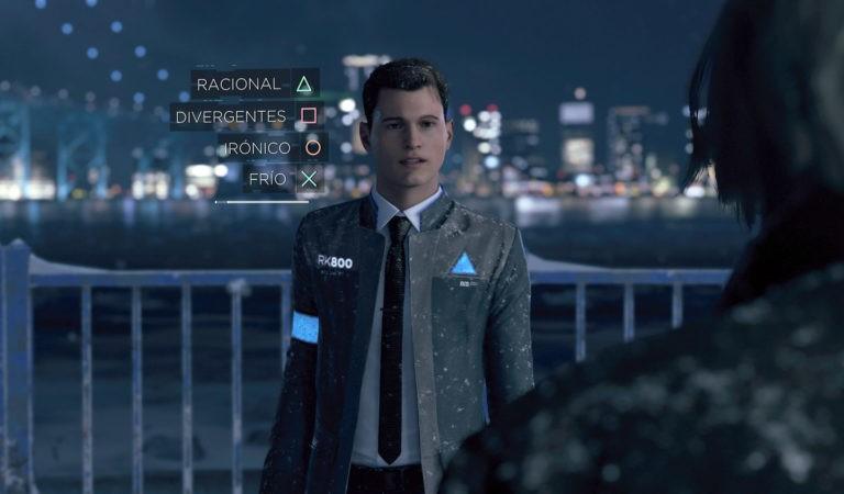 Detroid: Become Human vai substituir PES 19 nos games da Plus de julho