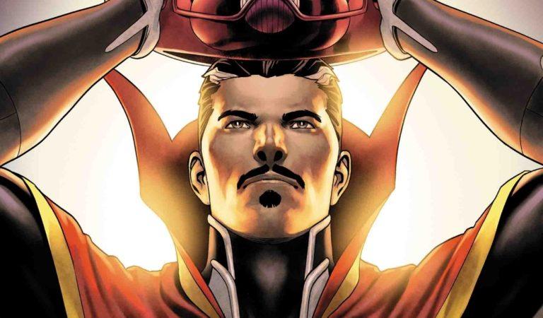 Doutor Estranho| Mago Supremo aparece colocando o capacete de Galactus em nova HQ!