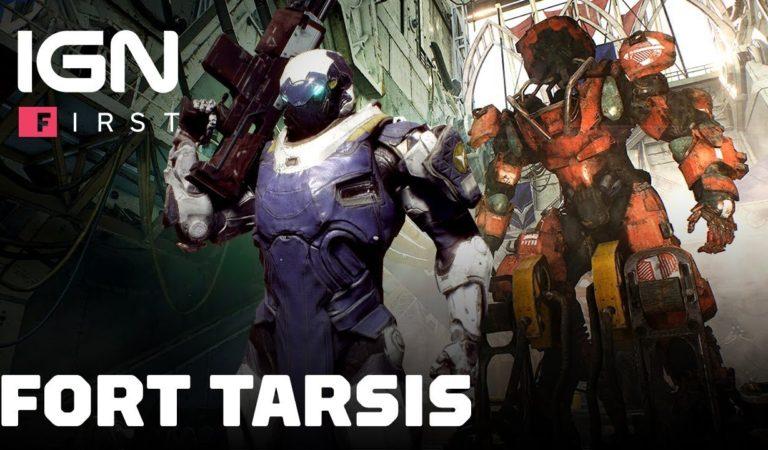 Novo gameplay de Anthem explora o Fort Tarsis